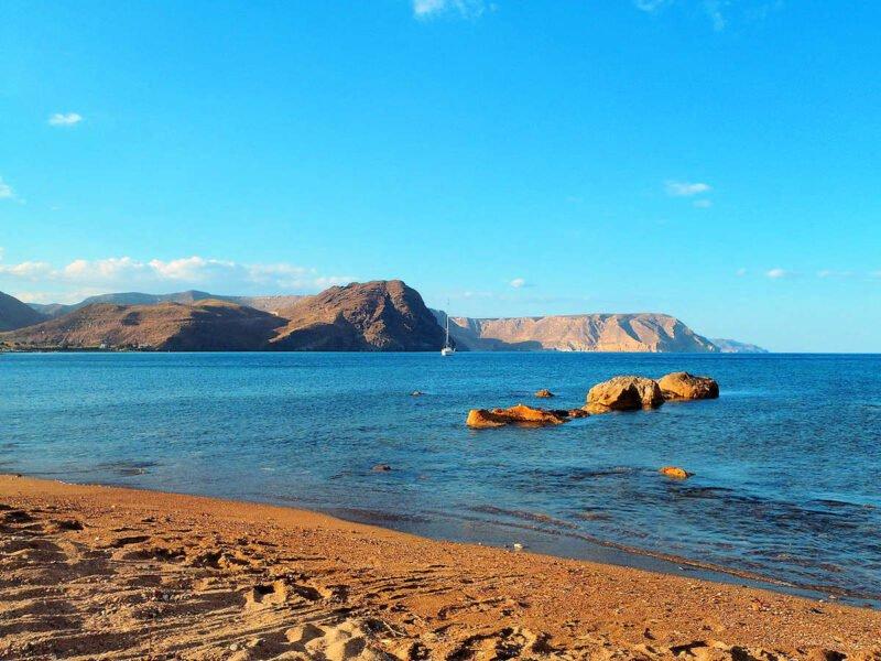 Playa Cabo de Gata en Las Negras
