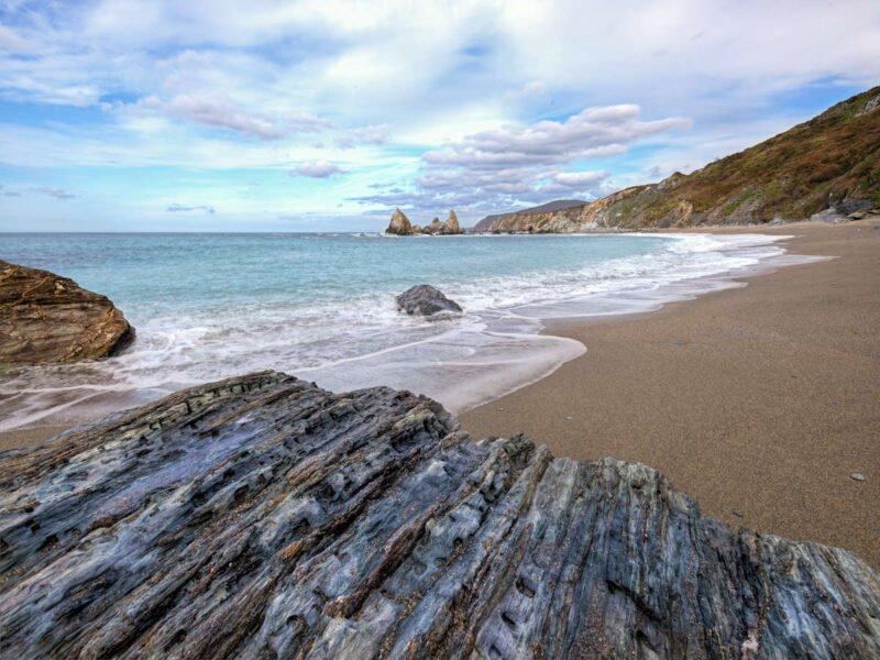 Playa de Loiba en Ortigueira