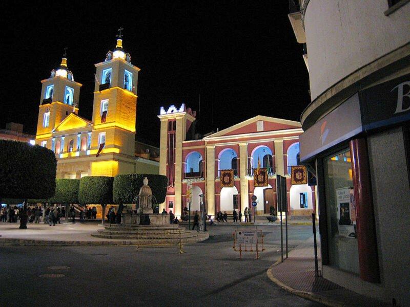Plaza de la Constitución de Berja