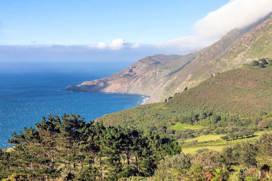 Sierra de Capelada en San Andrés de Teixido