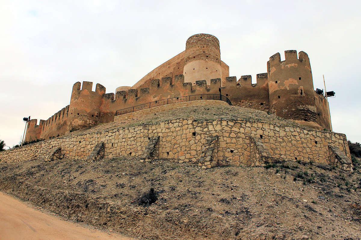 Biar-Alicante-Castillo