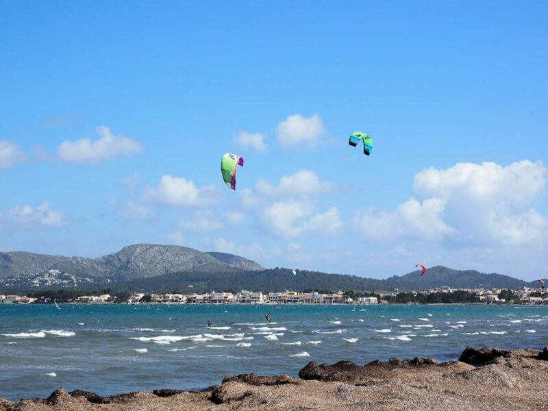Deportes acuáticos en Port de Pollença