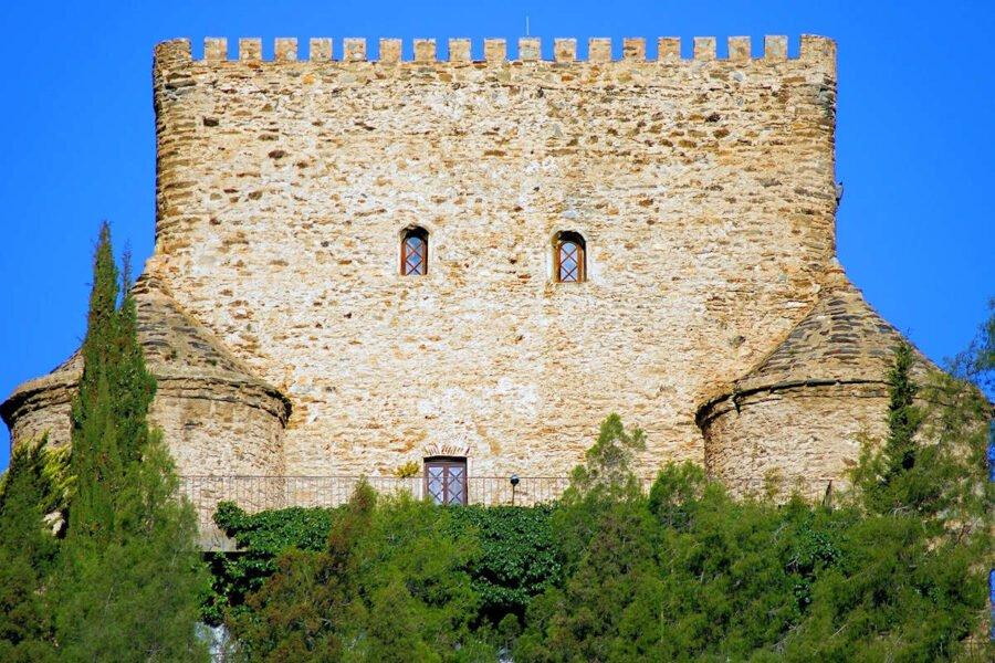 Detalles del Castillo de Gérgal