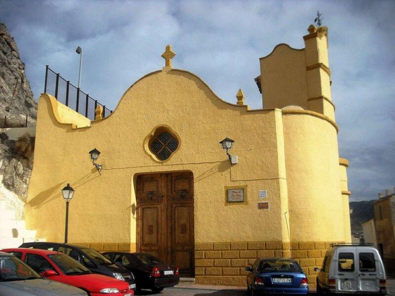 Ermita de San Blas en Sax