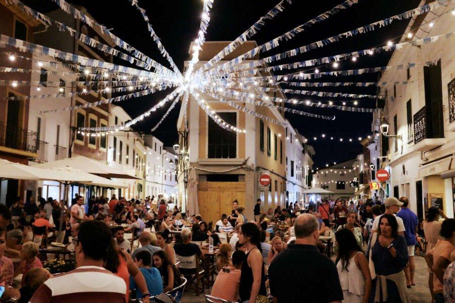 Es Mercadal en Menorca