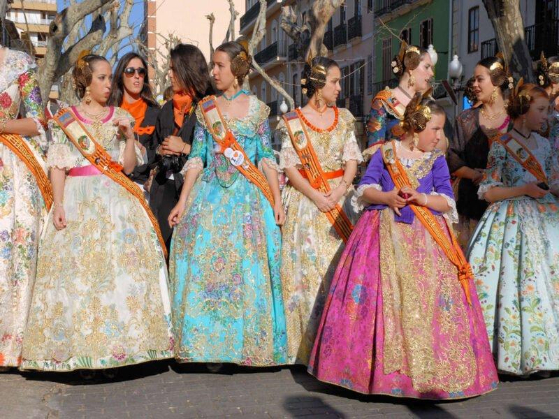 Fallas en Dénia-Alicante