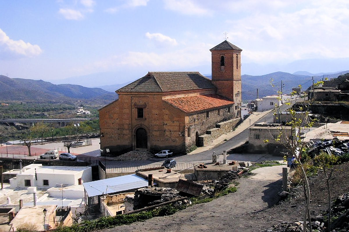 Iglesia de Nuestra Señora del Carmen en Gérgal