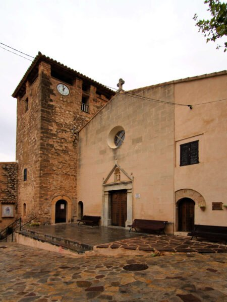 Iglesia de San Juan Bautista en Estellencs