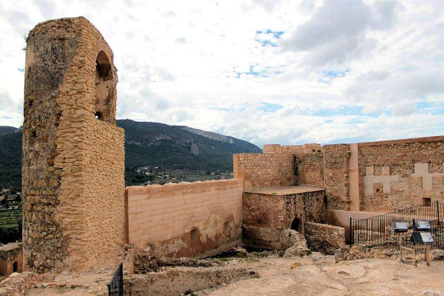 Interior Castillo de Biar