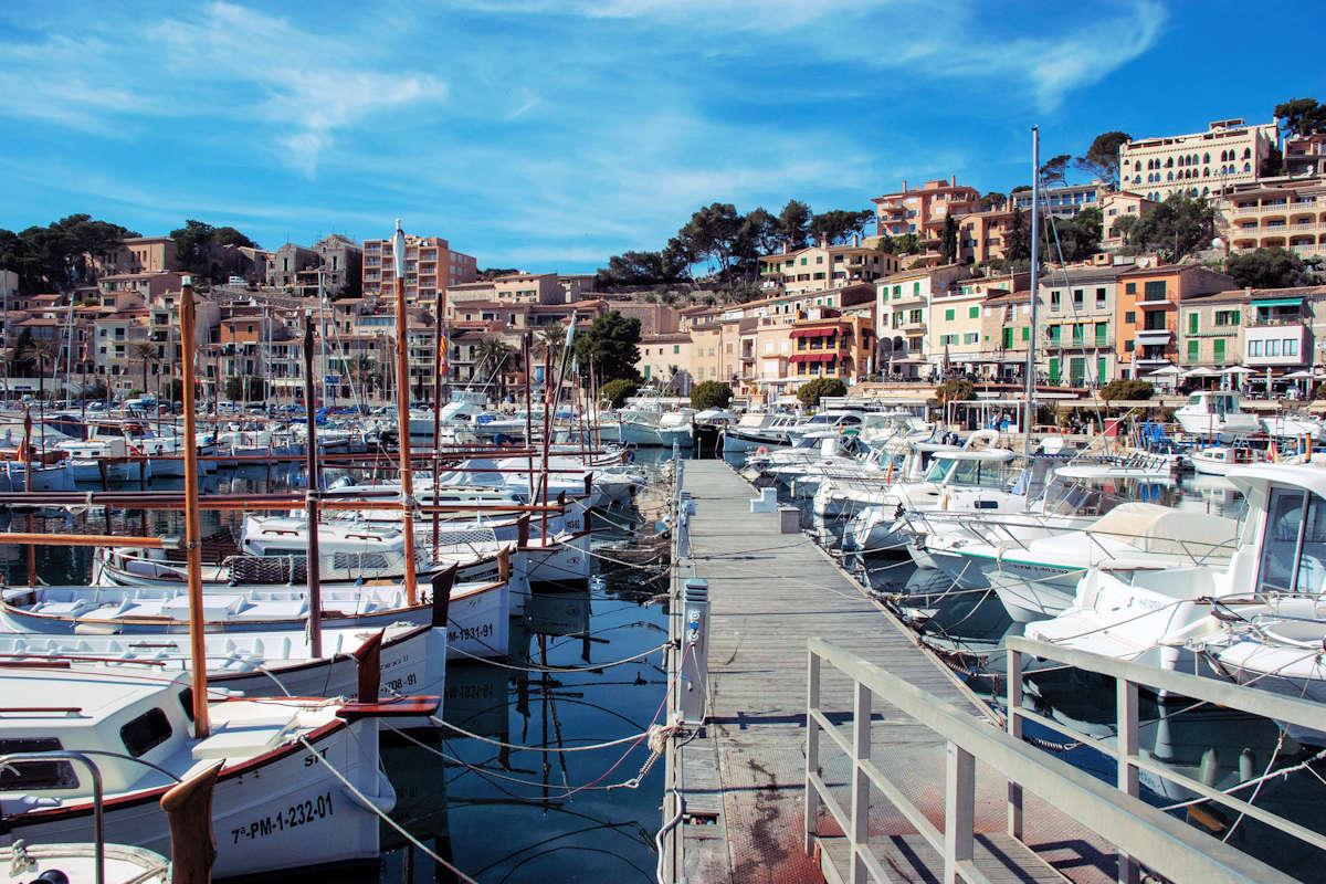 PORT DE SÓLLER-Pueblos más bonitos de Mallorca
