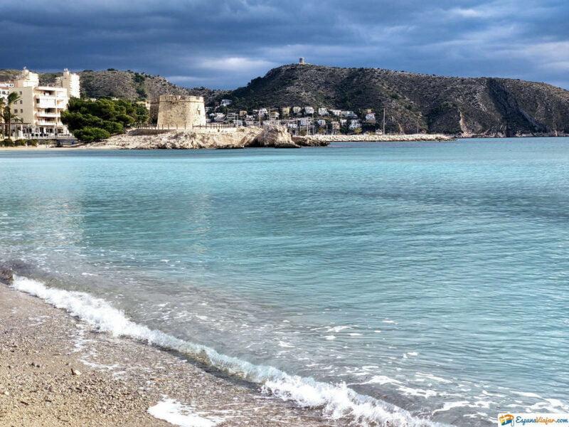 Playa de L'ampolla-Moraira