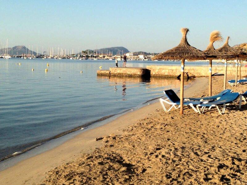Playa en Puerto de Pollensa