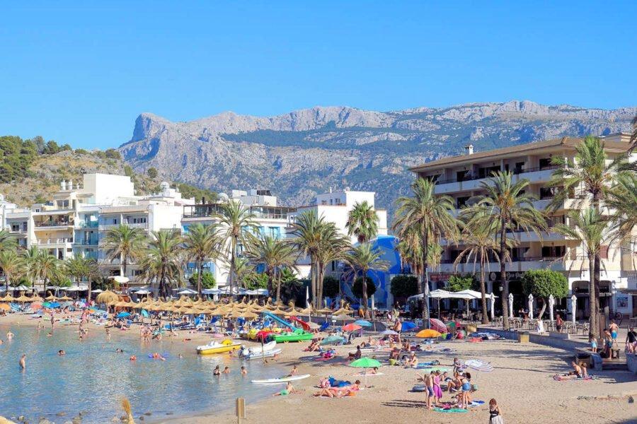 Playas en Port de Sóller
