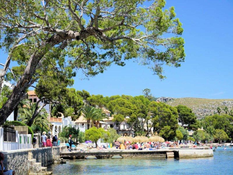 Puerto de Pollensa en Mallorca