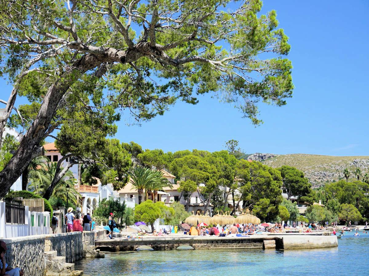 playas de-Port-de-Pollença-Mallorca