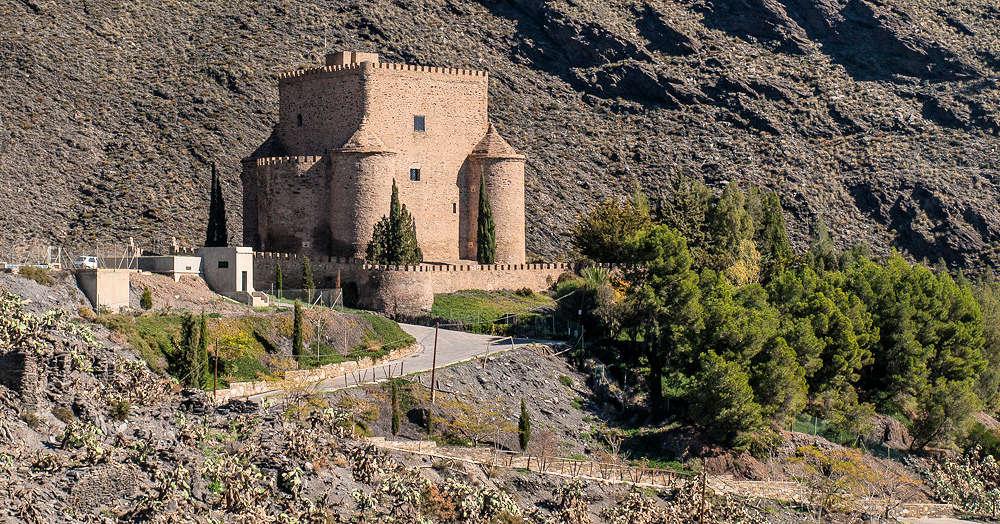 Visitar el Castillo de Gérgal