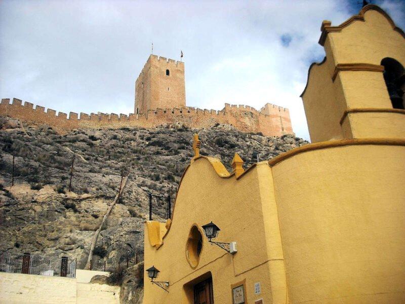 Vistas del Castillo de Sax