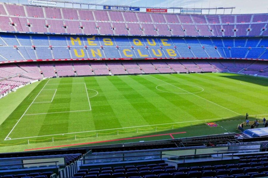 Camp Nou en Barcelona