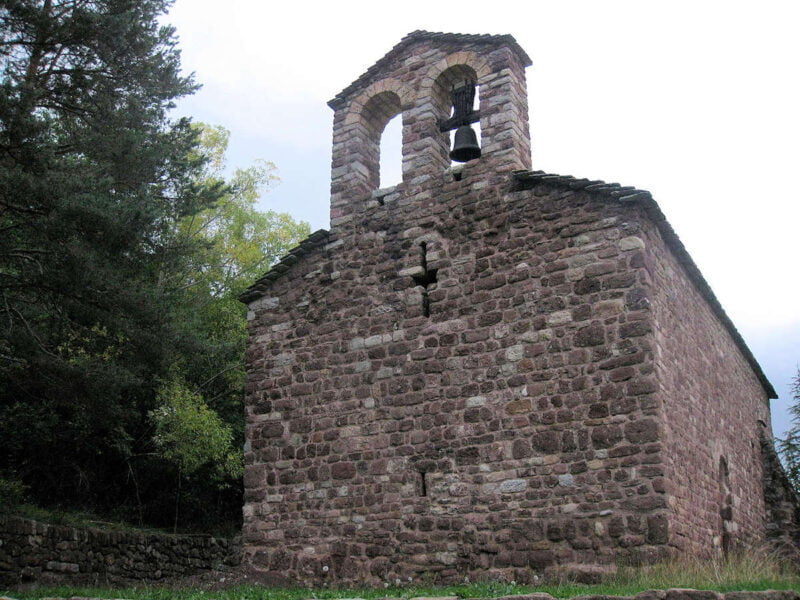 Capilla de San Vicente de Rus en Castellar de N'hug