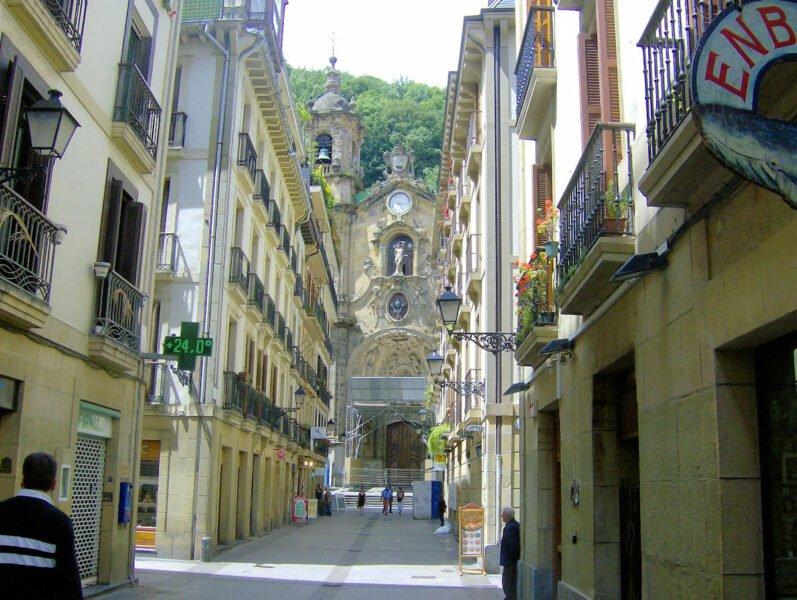 Casco Histórico o Antiguo de San Sebastián