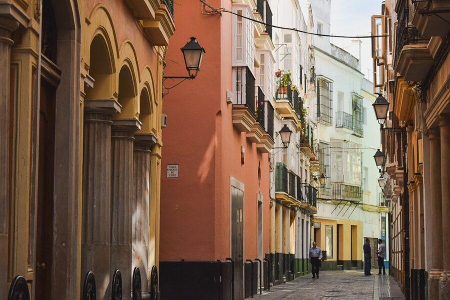 Casco histórico Cádiz