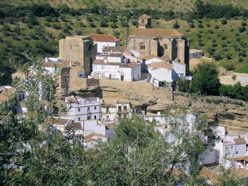 Castillo Nazarí de Stenil de las Bodegas