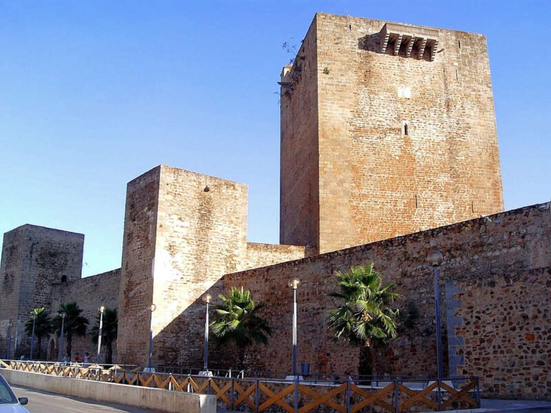 Castillo de Olivenza en Badajoz