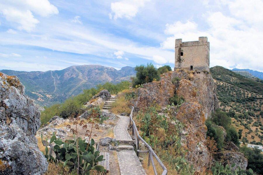 Castillo en Zahara de la Sierra