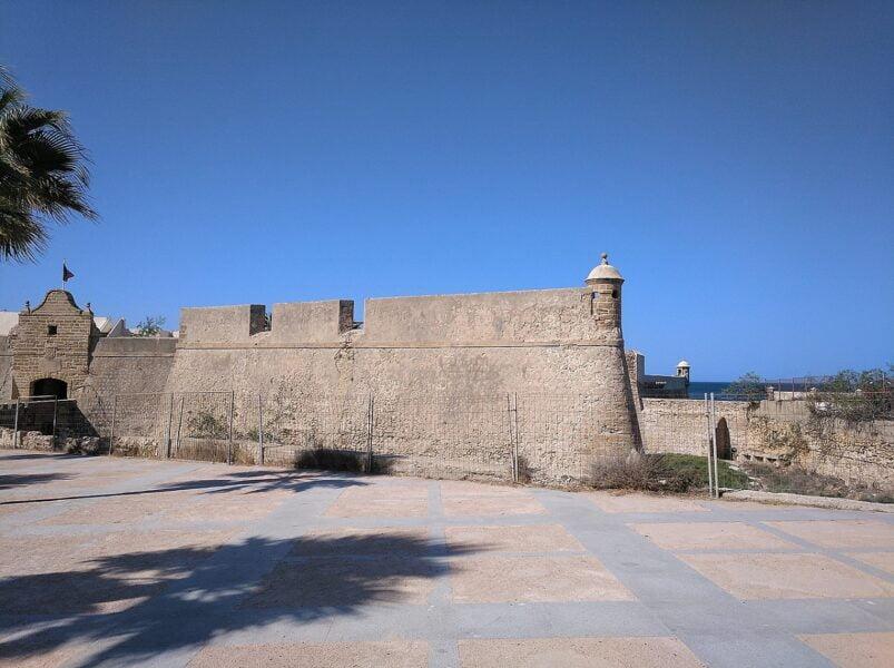 Castillo de santa Catalina Cádiz