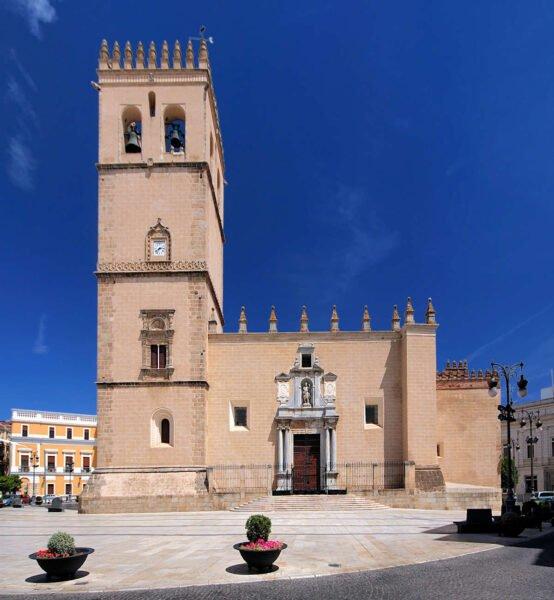 Catedral de San Juan Bautista en Badajoz