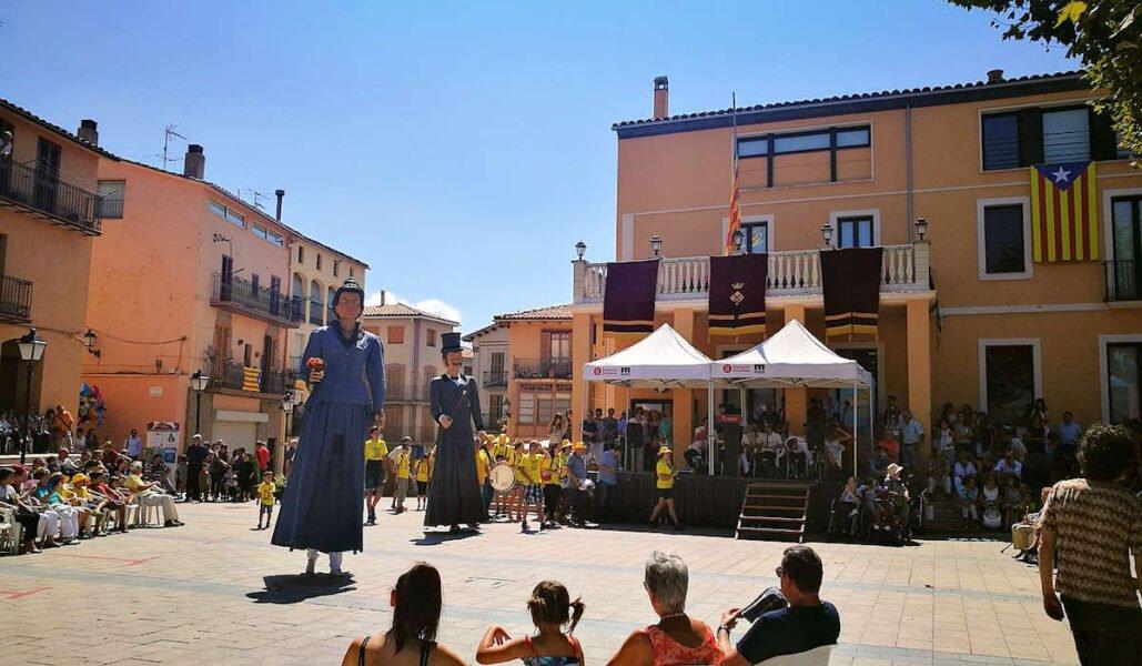 Festividades en Gironella