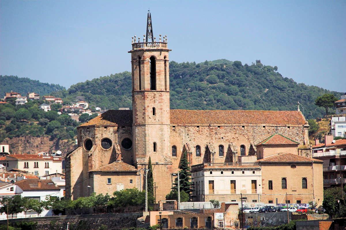 Iglesia-de-Santa-María-Caldas-de-Montbui.