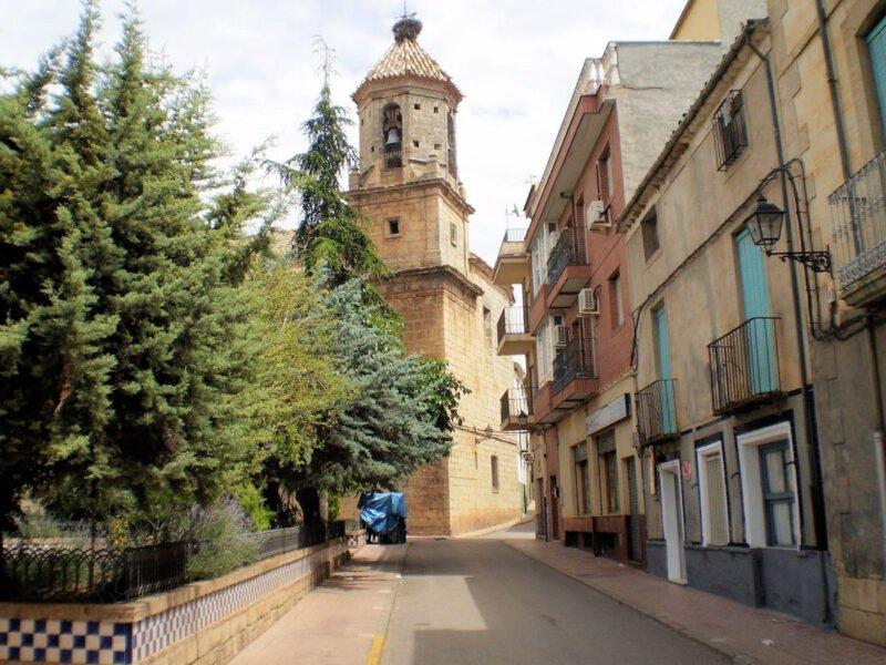 Iglesia de San Juan Bautista en Jaén