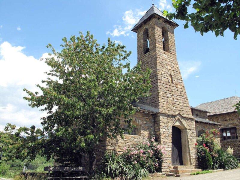 Iglesia de San Pedro en Pujalt