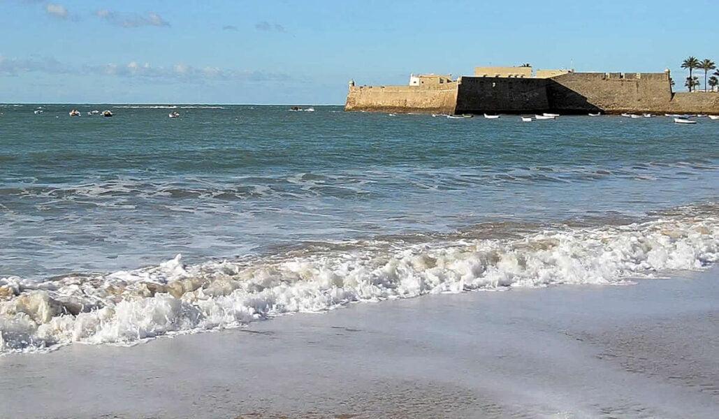 La Caleta en Cádiz