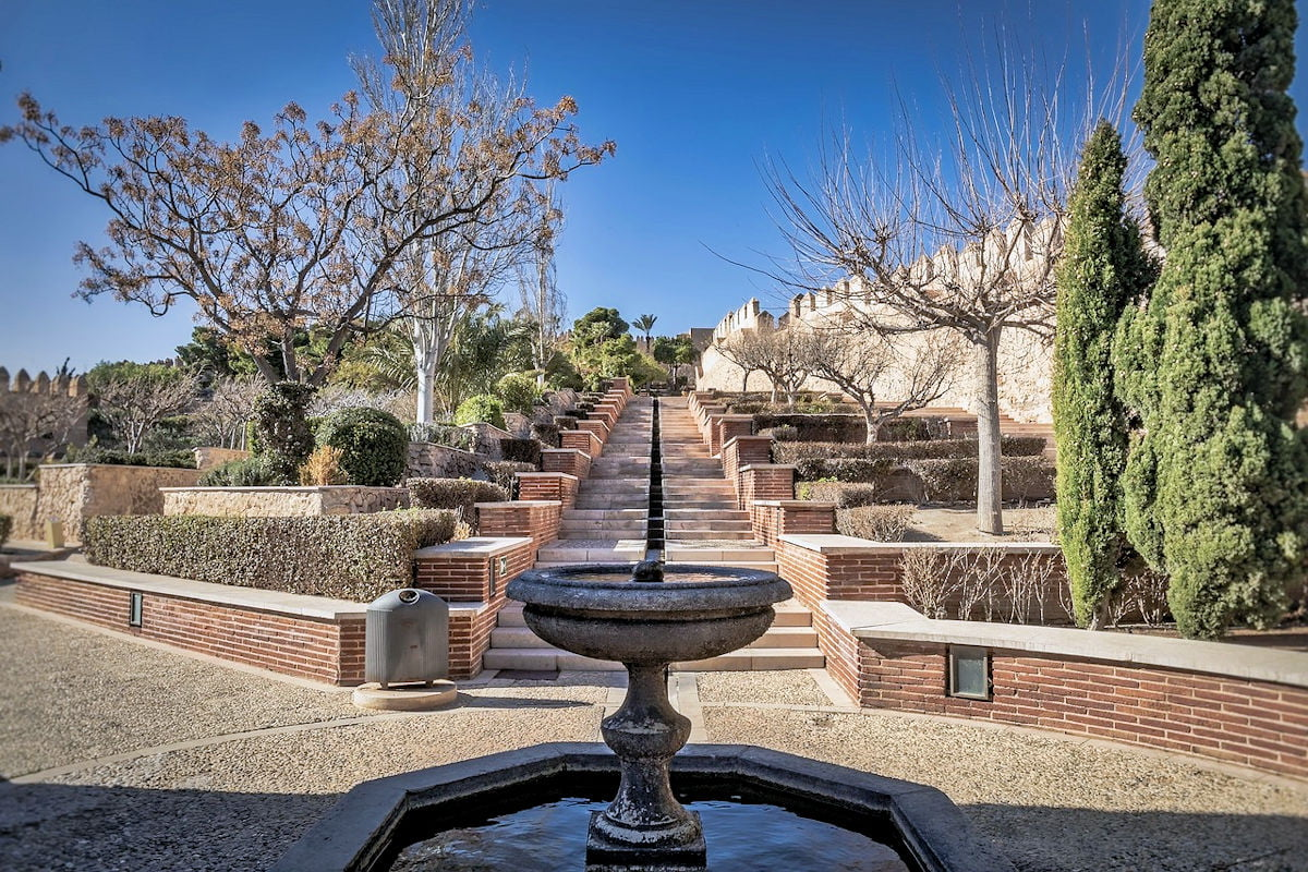 la alcazaba Almeria