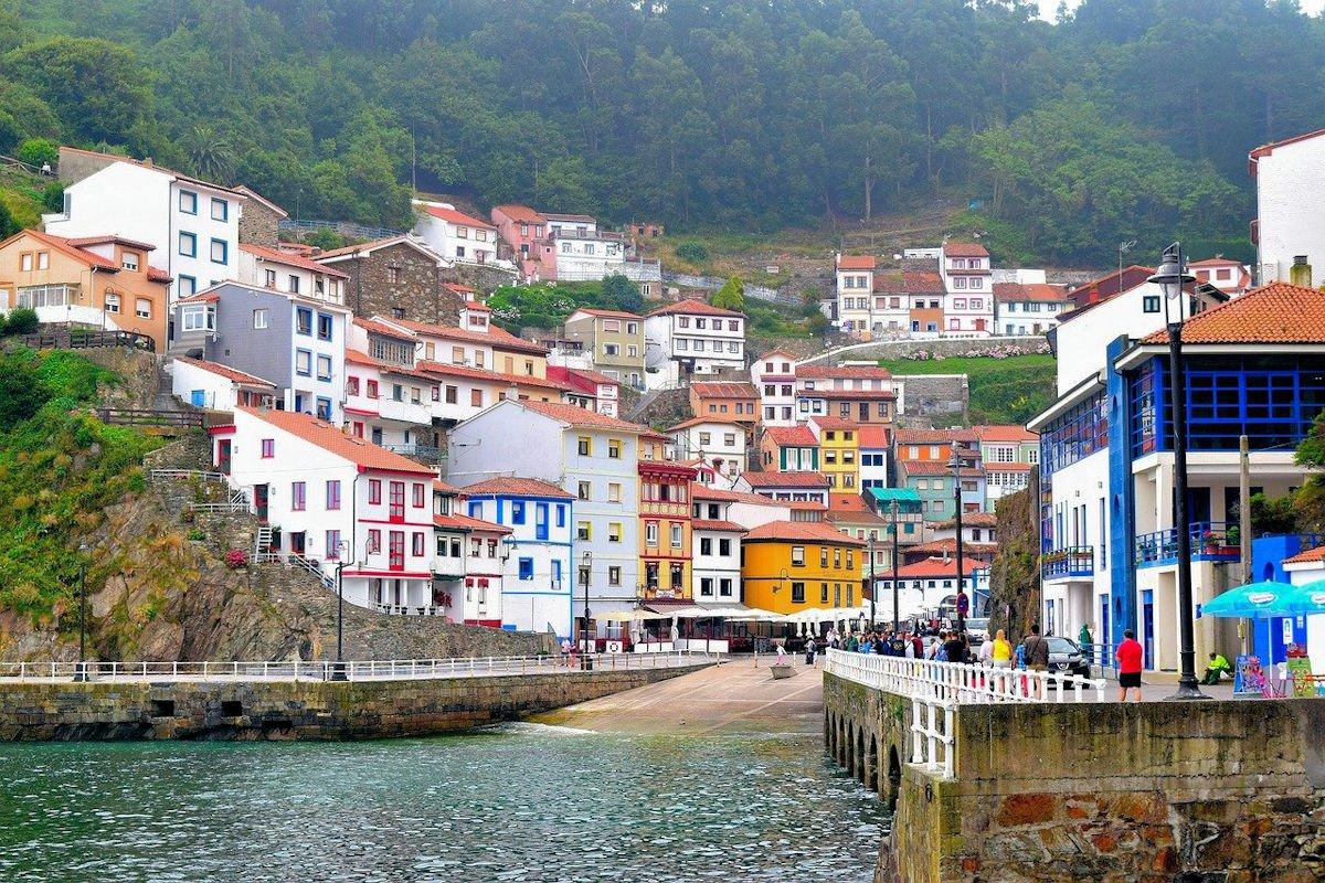 Mapa Turístico de Asturias