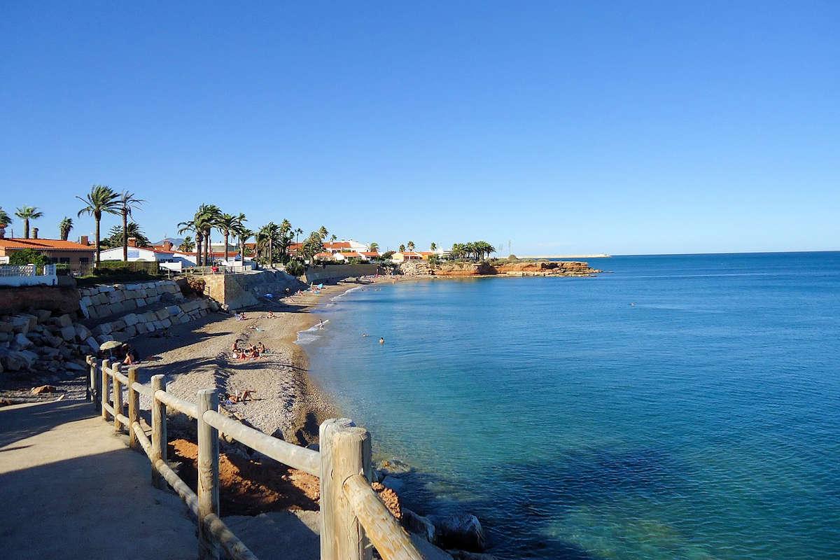 Playas de Castellón, España