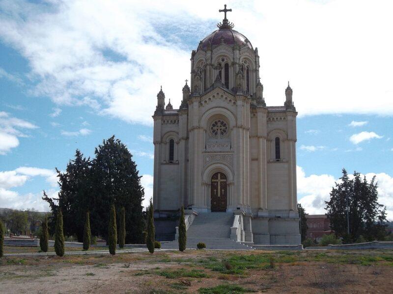 Panteón de la Duquesa de Sevillano Guadalajara.