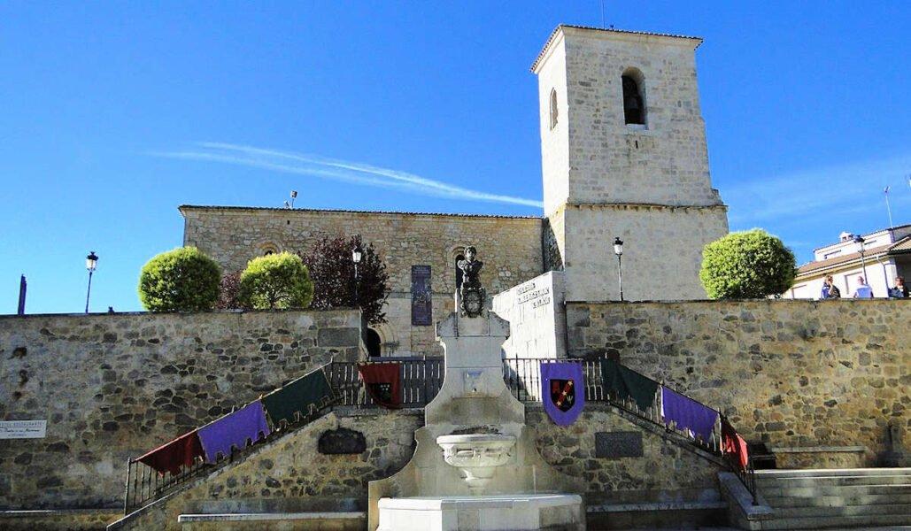 Parroquia de San Sebastián en Caleruega