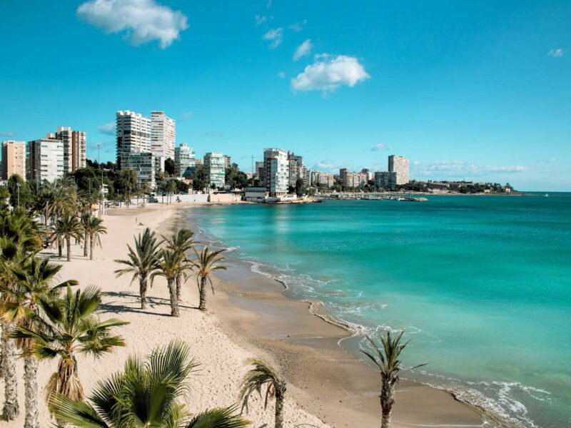 Playa San Juan en Alicante