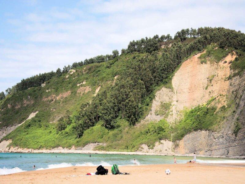 Playa de Rodiles en Asturias