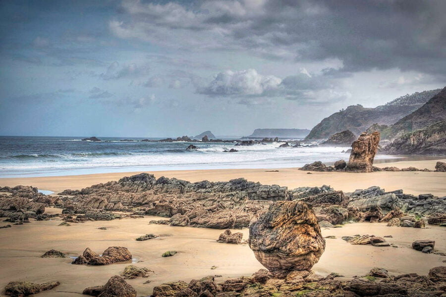 Playa del Aguilar Asturias