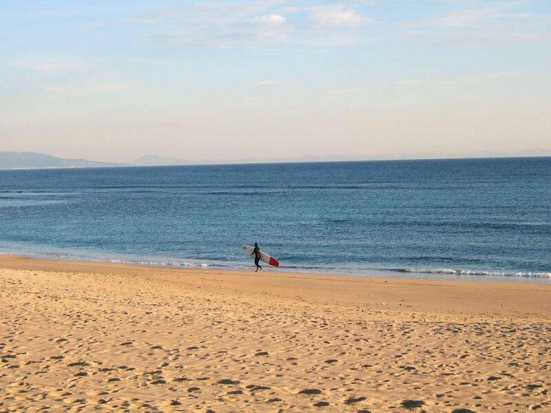 Playa del Palmar en Cádiz