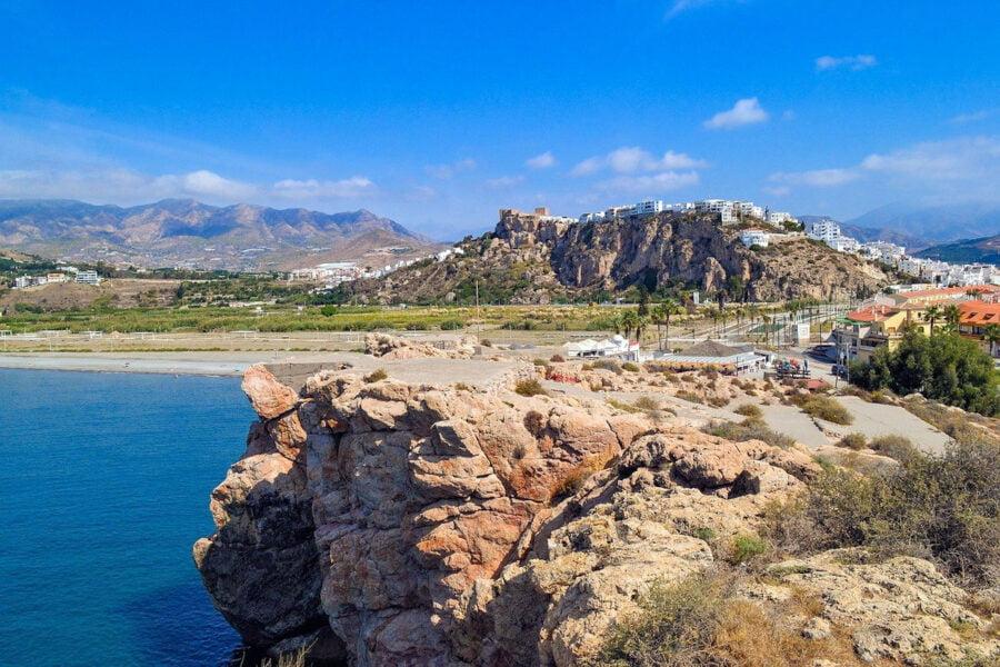 Playa el Peñón de Salobreña