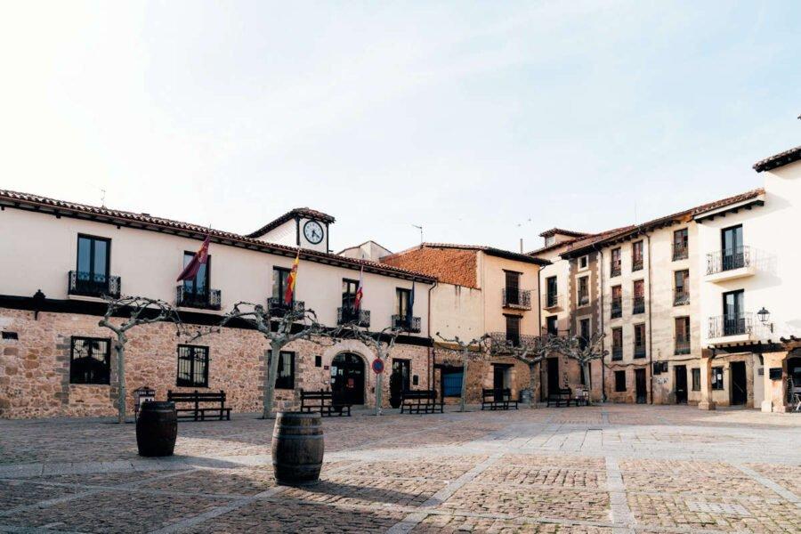 Plaza Mayor de Covarrubias