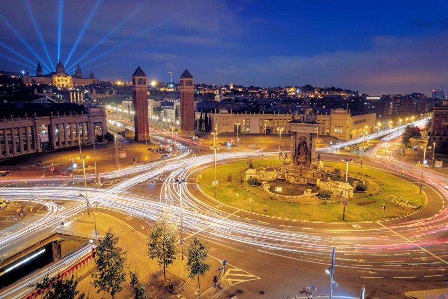 Plaza de España de Barcelona