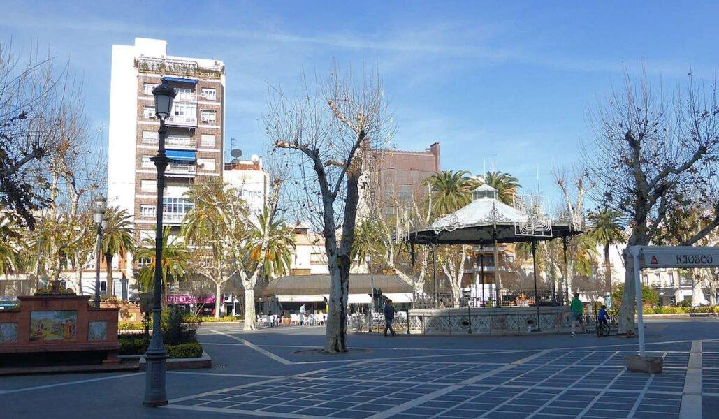 Plaza de San Francisco en Badajoz