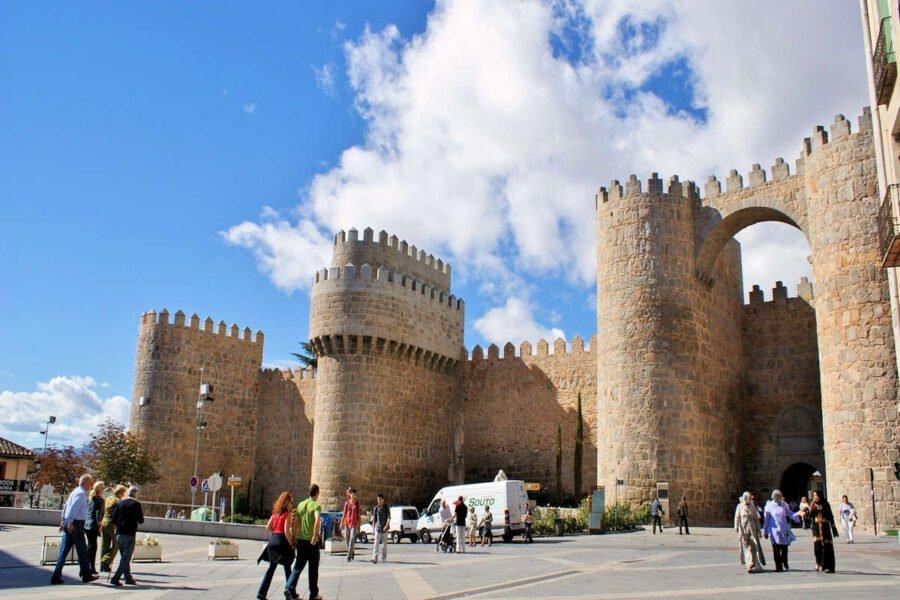 Puerta de Alcázar en Ávila