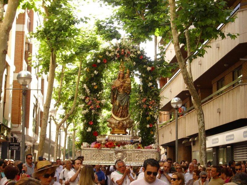 Romería Virgen de Alarcos Ciudad Real